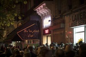 Le Bataclan, le soir du concert de Trust.