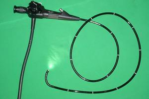 Un endoscope souple.