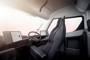 La cabine du Tesla Semi