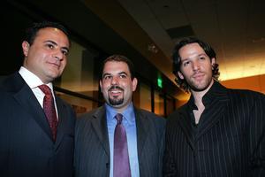 Gilad Millo (au centre), en 2005, à Los Angeles.