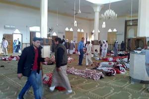 L'attaque a eu lieu à l'intérieur de la mosquée Al-Raoudah.