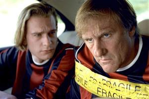 Gérard Depardieu et son fils Guillaume dans «Aime ton père» (2002).