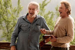 Dans «Salaud, on t'aime» de Claude Lelouch, Johnny Hallyday est aux côtés de Eddy Mitchell.