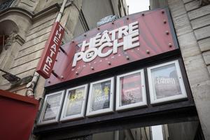 Le Théâtre de Poche-Montparnasse (VIe), légendaire foyer decréation.