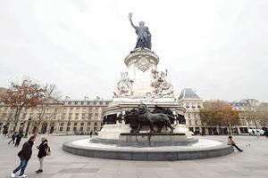 La place de la République.