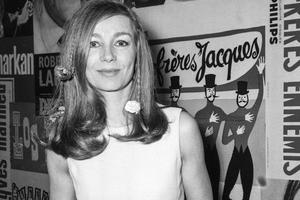 Emmanuelle Riva à Paris en 1969.