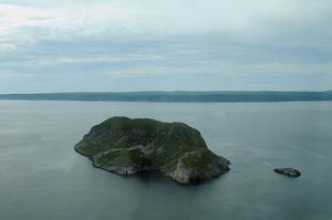 Le Grand Colombier, un gros rocher où l'on peut se prendre pour Robinson!