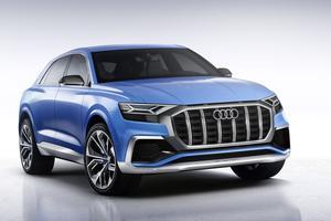L'Audi Q8 devrait ressembler à ce concept vu à Detroit l'an dernier.