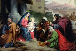L'Adoration des mages, de Jean-Pierre Granger, 1833.