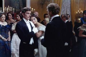 Alain Delon dans «Le Guépard» en compagnie de Burt Lancaster (1963).