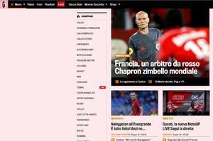 Site de la Gazetta Dello Sport