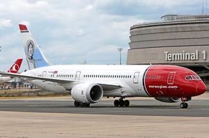 le Dreamliner de Norwegian à Roissy
