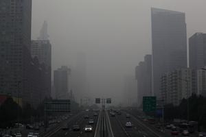 Le «smog» à Pékin en 2012.