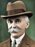 Pierre de Coubertin, premier président du CIO.