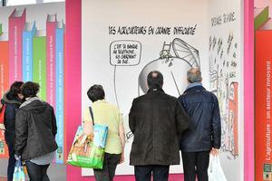 Le pont des expositions animé par Philippe Tastet.