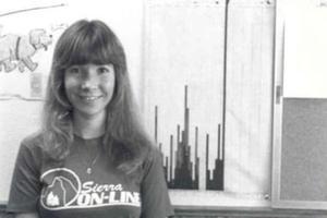 Roberta Williams a moins de 30 ans lorsqu'elle met au point l'un des premiers grands succès populaires du jeu vidéo.