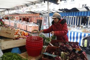 Le marché Villette.