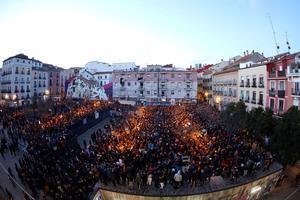 Un millier de manifestants étaient présents vendredi soir.