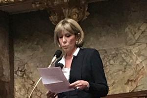 Florence Granjus a été marquée par sa visite des centres de rétention.