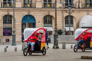Place Vendôme, à deux pas du Ritz