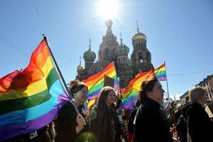 Le drapeau arc-en-ciel est le symbole de la communauté homosexuelle.