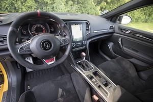 L'intérieur de la Renault Mégane R.S.