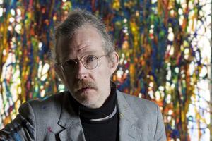 L'artiste conceptuel anglais Martin Creed, 49ans, a été undespremiers àœuvrer dans l'Art Farm deHauser &Wirth, dans le Somerset.