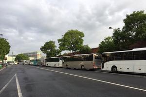40 bus ont été affrétés.