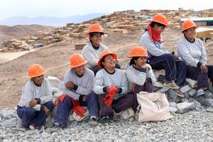 Mine de Sotrami au Pérou.