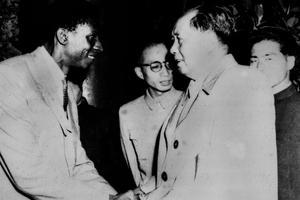 Jacques-Stephen Alexis rencontre Mao Tse Zedong en Chine en 1961.