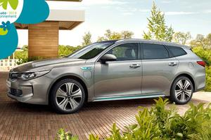 Kia Optima SW PHEV.