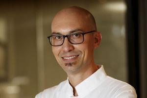 Le chef de l'Emporio Armani Caffè, Massimo Tringali.