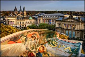 Une ville d'eaux fréquentée jadis par l'Europe de l'aristocratie, des lettres et des arts.