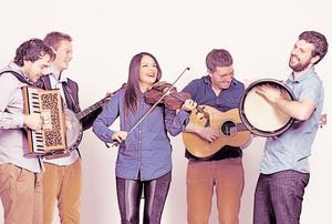 Goitse, un quintet énergétique originaire deLimerick, auCentre culturel irlandais (Ve)
