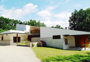 La maison Louis Carré, à Bazoches-sur-Guyonne (78).