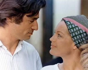 Sami Frey et Romy Schneider dans «César et Rosalie», de Claude Sautet.