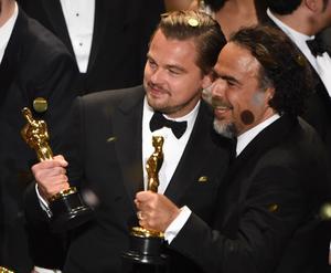 Inarritu et Leonardo DiCaprio.
