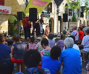 Le festival Musiques en terrasse