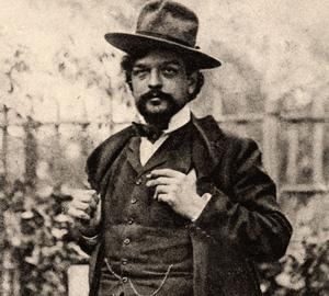 Claude Debussy vers 1902.
