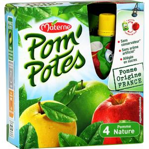 Bel and add  & # xE0; its portfolio star products of go  & # XFB; ter such as gourd stewed Pom'Potes,  invented xe9 & #;. e in 1998 by its historic  brand Materne