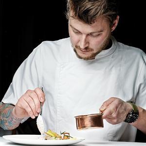 Andreas Møller au restaurant la Maison du Danemark.