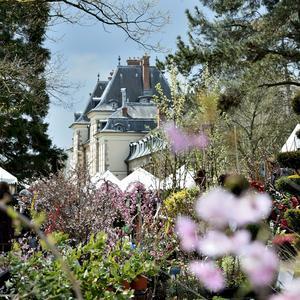 La Fête des plantes du domaine deSaint-Jean-de-Beauregard.