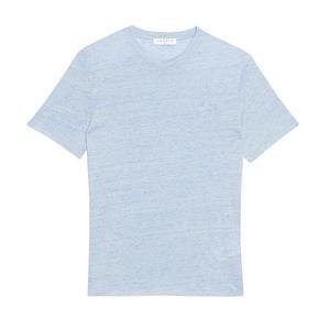 Tee-shirt Sandro en lin chiné, 59€50-soldé. (Sandro)
