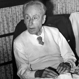 Roland Dorgelès (1885 1973) journaliste et écrivain, membre de l'Académie Goncourt de 1929 a 1973.