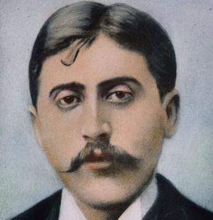 L'écrivain Marcel Proust vers 1900.
