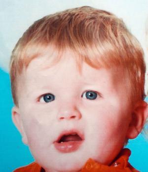 Portrait du petit Bastien, décédé à l'âge de 3 ans le 25 novembre 2011.
