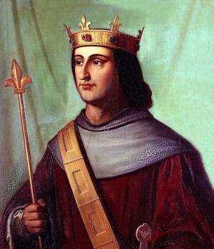 Philippe VI de Valois, roi de France (1328-1350).
