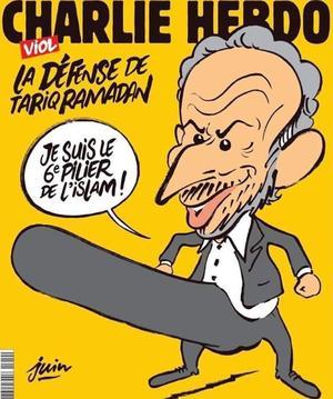 Une de <i>Charlie Hebdo</i> du 1er novembre 2017.