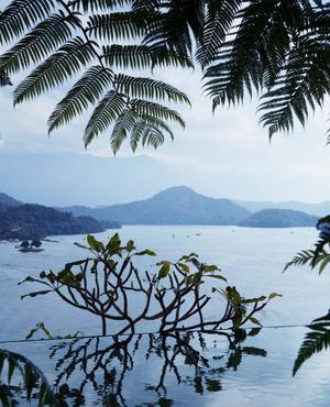 Après la cohue de Taipei, sérénité au Sun Moon Lake.
