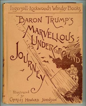 Couverture du roman de Lockwood, écrit en 1893. Crédits photo: Capture Twitter.